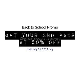 BACK TO SCHOOL PROMO!