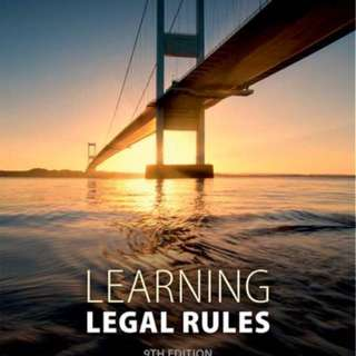 Legal learning rules Legal System method uob LLB