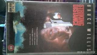 VHS A action movie Bruce Willis
