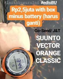 SUUNTO VECTOR ORANGE CLASSIC with box