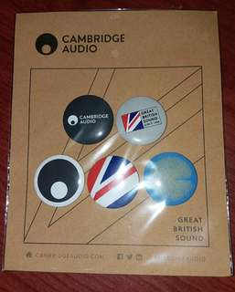 Cambridge Audio pins扣針