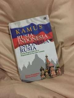 Kamus Rusia Indonesia #kanopixcarousell