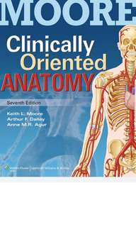 Moore Clinically Oriented Anatomy 7th Ed PDF