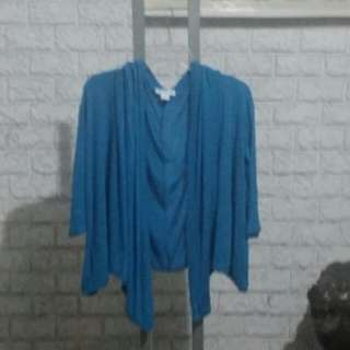 COTTON ON Cover Up/Slip On Shawl, Size L