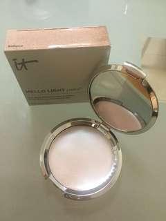 It cosmetics hello light creme highlighter