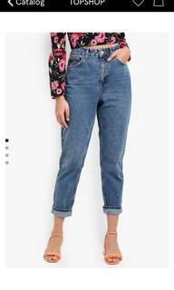 BNWT TOPSHOP MOM JEANS