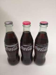 Coca Cola土耳其可口可樂一套三款250mL非回收瓶