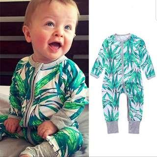 📮 Free Mail • (0-18M) Baby Newborn Bonds inspired Wondersuit Zip Up Zipper Zipped up Sleepsuit Footeda Integrated mittens cotton-On Zip sleepsuits