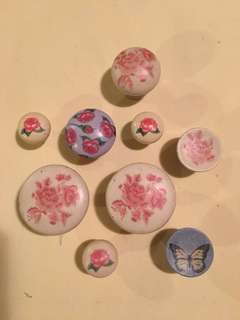 Shabby Chic Dresser Drawer Knobs