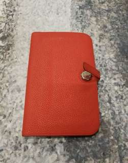 Hermes Dogon Wallet Orange