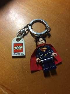 🚚 正版LEGO;DC聯名款:超人:鋼鐵英雄鑰匙圈