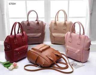 Anello style korean backpack