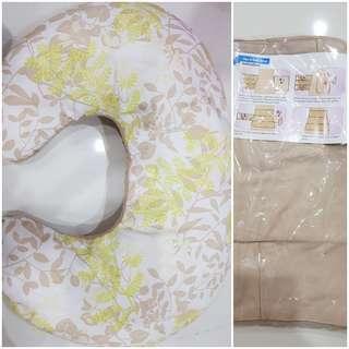 Nursing Pillow + free new slimming wrap