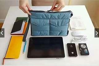 Gadget travel pouch organizer