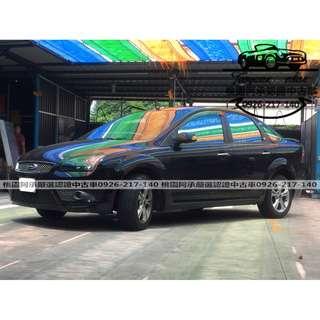 【FB搜尋桃園阿承】福特 超人氣FOCUS柴油 2008年 2.0 黑色 二手車 中古車