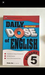 Brand new Primary 5 Daily DOSE of English