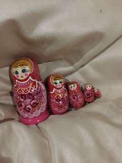 Matriyoshka Russia 5 lapis #kanopixcarousell