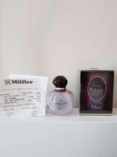 Dior perfume pure poison edp 30 ml