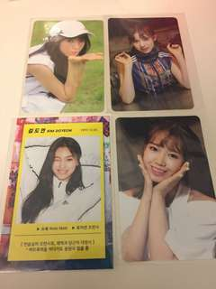 Weki Meki Photocards.
