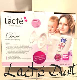 Under Warranty Lacte Duet Electric Breastpump
