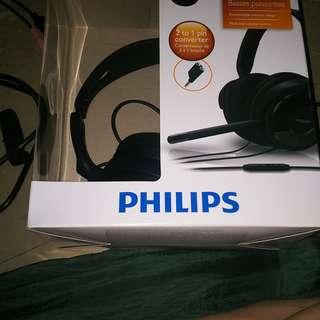 飛利浦立體聲耳筒SHM6500