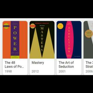 Power, Mastery, Seduction, War Ebooks