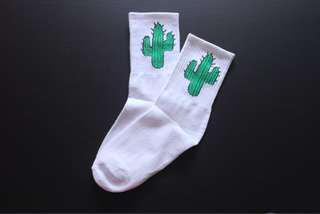 🚚 Cute cactus socks-instocks