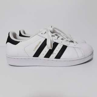 Original ADIDAS Superstar White Black