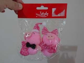 Decorative Couple Piglets