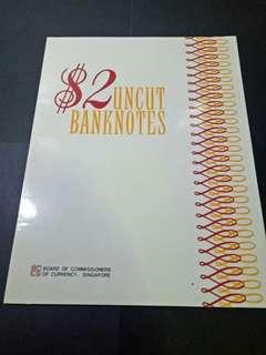 UNCUT BANKNOTES