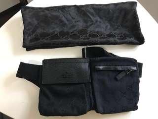 Gucci 單斜小包/腰包 (Gucci Waist bag)