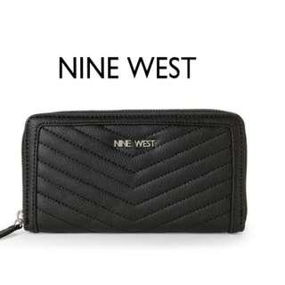 NEXT DAY SHIP Original Nine West Zip-Around Women's Wallet