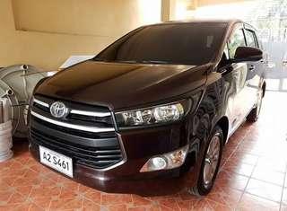 2017 Toyota Innova E MT/Diesel