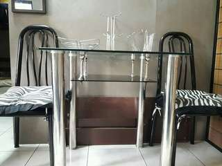 Dining Tempered Glass Table
