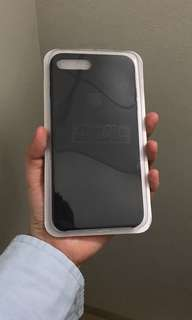 Soft Rubber Case For IPHONE 7+ / 8 plus WARNA BLACK