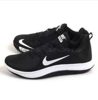 Sepatu Basket Nike Fly By Low Black White Size 42,5 ORI BNIB