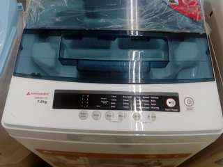 5 Year Warranty Brand New Washing Machine 7.0KG Full Automatic Hanabishi Best Seller Call: 0917.117.8781