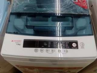 5 Year Warranty Brand New Washing Machine 7.0KG Full Automatic Hanabishi Best Seller Call: 0917.117.8781