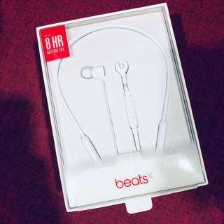 🚚 Beats X - Wireless Earphones (White)