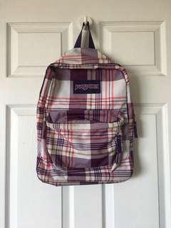 Patterned Jansport Backpack