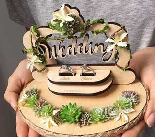 Wedding Ring Holder / Ring Pillow