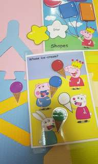 🚚 Peppa pig learning puzzles
