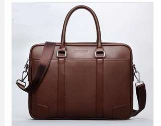 Business Leather Bag Briefcase