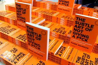 NEW STOCK IN SOON!! - The Subtle Art of Not Giving a F*ck: A Counterintuitive Approach to Living a Good Life