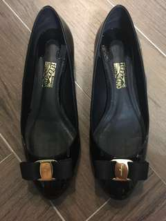 Salvatore Ferragamo Shoes Lustra Patent calf
