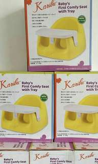 Karibu with Tray feeding seat for babies
