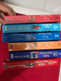 🚚 Katie Macalister books (bundle of 6)