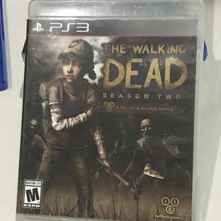 PS3 The walking dead season two playstation 3