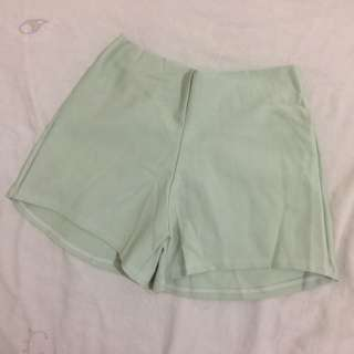 Light Green Hot Shorts