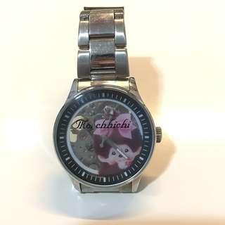 Monchichhi 鋼帶手錶 (齒輪錶)